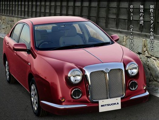 Real Cars 2008 Mitsuoka Galue 204